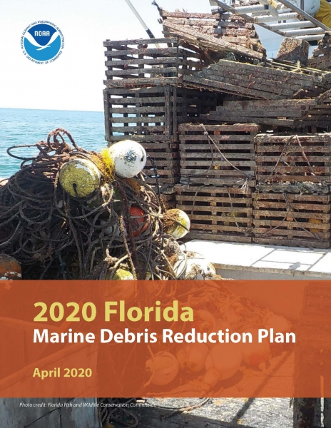 Cover of the Florida Marine Debris Reduction Plan