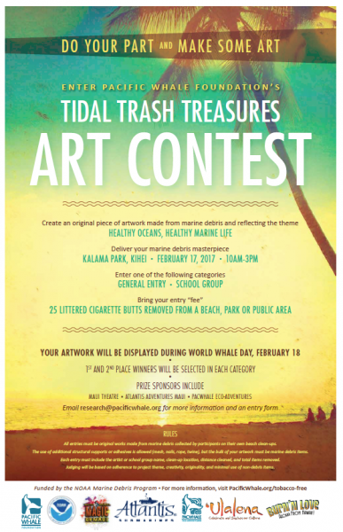 there s a new art contest in maui so do your part and make some art