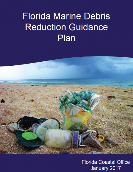 Cover of the Florida Marine Debris Reduction Guidance Plan.