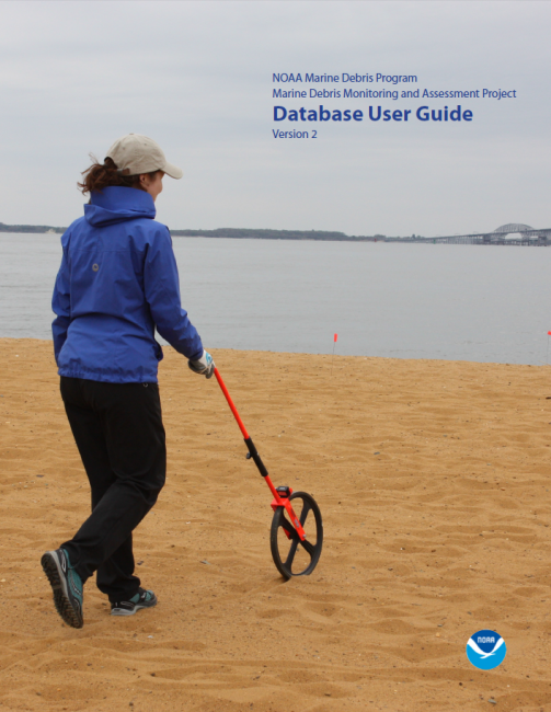 Cover of the MDMAP Database User Guide.