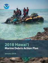Cover of the 2018 Hawaii Marine Debris Action Plan