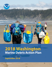 Washington Marine Debris Action Plan cover.