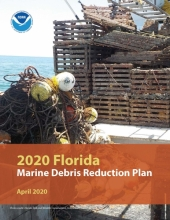 Cover of the 2020 Florida Marine Debris Reduction Plan