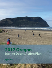 Oregon Marine Debris Action Plan cover.